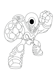 Free Printable Skylander Giants Coloring Pages Giant Page Skylanders Swap Force Colouring Pictures Superchargers Full