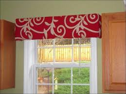 White Kitchen Curtains With Red Trim by Black And White Sheer Kitchen Curtains Full Image For With Trim Ki