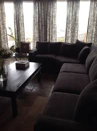 Macy s Radley 4 piece sectional in mocha charcoal gray colored