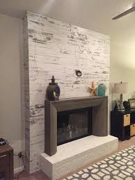Home Depot Wall Tile Fireplace by Best 25 Distressed Fireplace Ideas On Pinterest Distressed