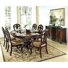 Oval Dining Room Table Park Set For 8 Size