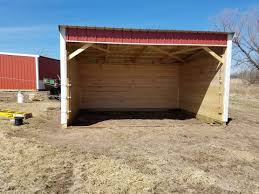 Livestock Loafing Shed Plans by Cattle Lean Barn Or Shelter On Skids Youtube