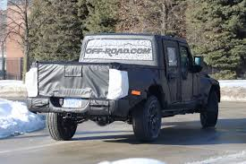 Jeep Scrambler Pickup Spotted Again In Spy Shots | Off-Road.com Blog 2018 Jeep Pickup Truck Front Photo Car Release Preview Heritage 1950 Willys The Blog 2019 Wrangler Spied Protype Tries To Hide Its Unwrapping The First Glimpse New Onallcylinders Eurautonewscom Why New Will Not Be Based Interior Wallpapers Fca Confirms Grand Wagoneer Allnew Pickup Truck Performancedrive Lost Cars Of 1980s Comanche Hemmings Daily To Debut At La Auto Show News Top Speed Coming With Convertible Option Medium Duty Work