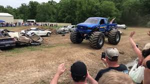 100 Bigfoot Monster Trucks Freestyle Monster Truck Run At Open House 2018 YouTube