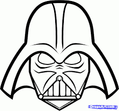 Star Wars Pumpkin Carving Templates Easy by Printable Darth Vader Mask U2026 Pinteres U2026