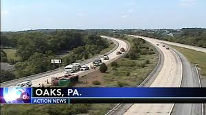 Overturned Dump Truck Blocks Multiple Lanes On Route 422 In ...