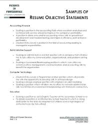 Teachers Resume Objectives Objective For Teaching