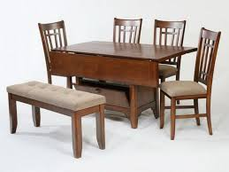 Round Dining Room Sets For Small Spaces by Drop Leaf Kitchen Tables For Small Spaces Soft Brown Rug Round