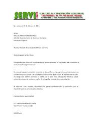 CARTA DE RENUNCIA Lima 28 De Enero Del 2015 Señora Milagros