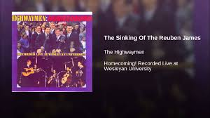 Johnny Horton Sink The Bismarck Year by The Sinking Of The Reuben James Youtube