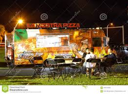 100 Food Trucks Miami Beach Night Image Of In A Park 2 Editorial Stock Photo Image