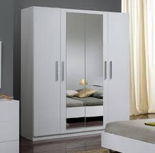 miroir chambre pas cher decors laquee avec maison blanc portes armoire coulissante deco