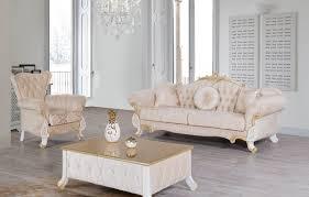 casa padrino barock wohnzimmer set beige weiß gold 2 sofas 2 sessel 1 couchtisch wohnzimmer möbel im barockstil edle barock möbel