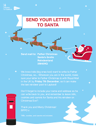 Dear Santa The History Of Writing To Father Christmas Royal Mail