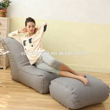 sitzsack mit ottomane liege moderne wohnzimmer lounge möbel buy liege moderne möbel lounge möbel product on alibaba