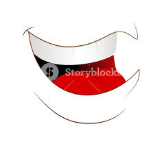 Laughing Face Vector Royalty Free Stock Image