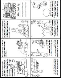 Story Of Abraham And Isaac Book Printable Preschool Bible