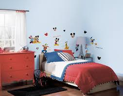 Mickey Mouse Bedroom Curtains by Amazon Com Roommates Rmk1507scs Mickey And Friends Peel U0026 Stick