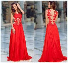 2016 new york fashion evening dresses seethough appliques lace