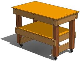 Plans For A Simple End Table by How To Build A Simple Workbench Workshop Tool Plans Download