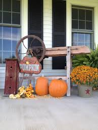 Halloween Porch Decorations Pinterest by Country Fall Porch Fall Decor My Country Home Pinterest
