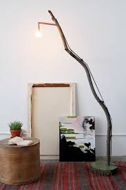 Curved Floor Lamp Copper by Diy Copper And Wood Floor Lamp Decor Hacks
