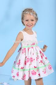 2015 new boutique tulle little girls clothes party wear