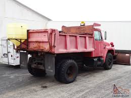 100 Pink Dump Truck 1986 International Harvestor W Plow