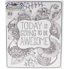 Awesome ColourIn Canvas Lets Get Artsy Pinterest Coloriage