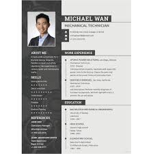 Experienced Mechanical Engineer Resume Template1 Details File Format