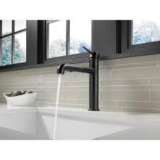 Delta Trinsic Faucet Home Depot by Black Faucet For Kitchen Best Faucets Decoration