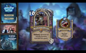 Warlock Deck Hearthstone Frozen Throne by Knights Of The Frozen Throne Final Card Reveal Discussion 07 08