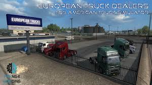 100 Truck Dealers European For ATS Frkn64 Modding
