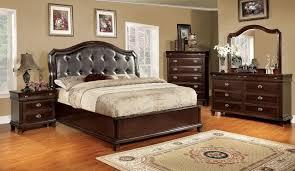 Platform Bedroom Set by Faux Leather Bedroom Furniture