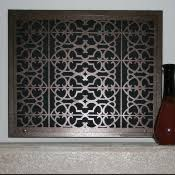 decorative return air filter grille return vents
