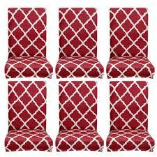 1 4 6pcs stuhlhussen stretch stuhlbezug spandex stuhlüberzug