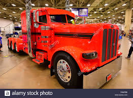Classic Red Peterbilt Truck Is Displayed At The 2018 Great American ... A Dark Peterbilt Cabover Semi Truck Is Displayed At The 2018 Great Photos Day 2 Of Pride Polish Trucks American Success 2015 Trucking Show Landstar The Truck Recap Raneys Blog Gats 2013 In Dallas Tx By Picture Allies Booth Allie Knight Youtube Photo Gallery Great American Truck Show 2016 Dallas Bangshiftcom Big Rigs And More From
