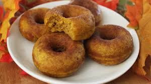 Pumpkin Cake Mix Donuts by How To Make Pumpkin Donuts Youtube