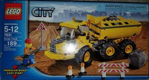 100 Lego City Dump Truck LEGO Used All Part Are Accounted For Ships Partly