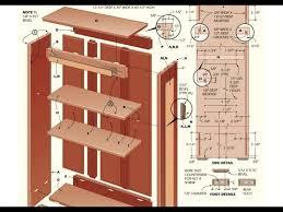 woodworking plans bookshelf blueprint plans pdf plans