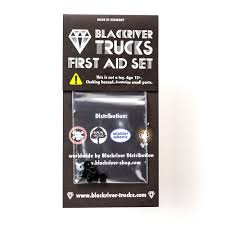 Blackriver Trucks - First Aid Bushings Medium Blac