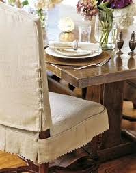 Dining Chair Skirts Room Covers With Arms Slipcovers For Chairs Collection In