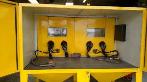 Media Blasting Cabinet Lighting by Pressure Blast Cabinet Bb 9000led Bvt Dsl Pr