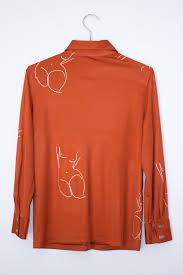 dark orange blouse k star closet