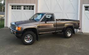 As Good As It Gets? 1985 Toyota SR5 4x4 Pickup For Sale 1985 Toyota 4x4 Pickup Truck Solid Axle Efi 22re 4wd Presented As Lot W174 At Indianapolis In Pickup With 22000 Original Miles Nice Price Or Crack Pipe 25kmile 4wd 6000 Was The 4runner Best Suv Of 80s Awesome Toyota 2wd Manual 5speed Potrait Hard Trim Heres Exactly What It Cost To Buy And Repair An Old Fs Norrock 22re Solid Axle Yotatech Forums Classic Car Longview Wa 98632 Truck 44 Lifted X Fresh Paint