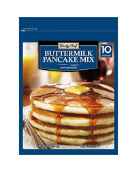 100 Buttermilk Food Truck Daily Chef Pancake Mix 10 Lbs