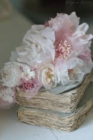 Miss Rose Sister Violetroses Pink Blush Tulle Organza Pearl Pretty Vintage Beautiful Petals Flowers Lace