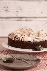 schoko baiser torte aka s mores cake