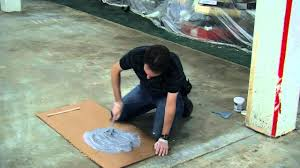 Rust Oleum Epoxyshield Garage Floor Coating Tan by How To Paint Your Floor With Epoxyshield Youtube