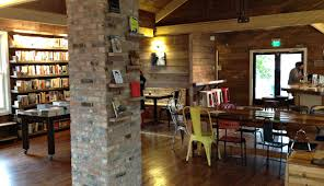 The Shed Edom Texas Menu by Interior Of Wild Detectives Independent Bookstore Cafe In Oak